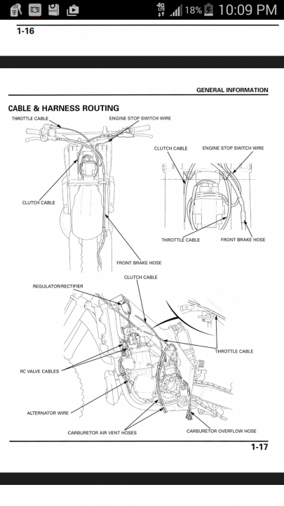 can someone send me a diagram of clutch cable routing on a 04 on 95 CR 250 for by weekendrdr, posted april 13, 2015 at CR 500