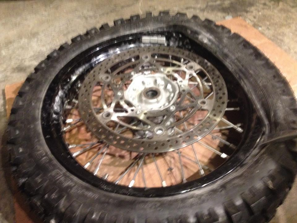 Trouble Mounting My New Tires Drz400 E S Sm Thumpertalk