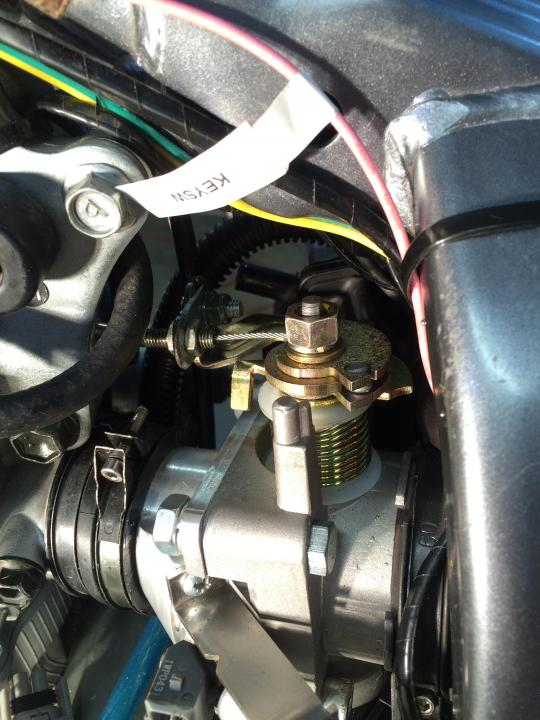 DRZ400S/SM FUEL INJECTION CONVERSION COMPLETED - DRZ400/E/S