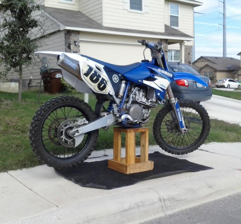 04 YZ450F hard start / poping on decel and at choked idle