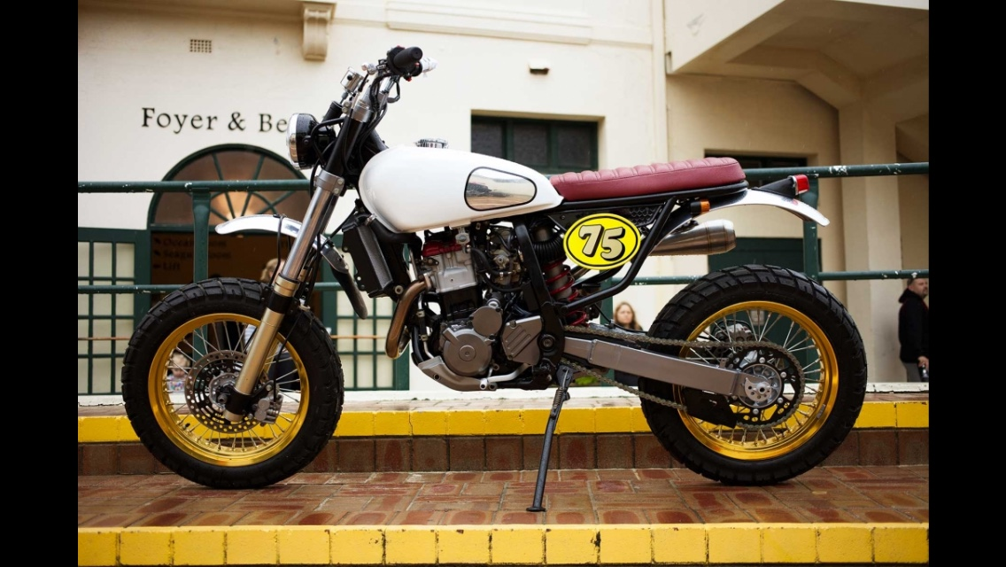 Any sm scrambler builds out there or similar? - DRZ400/E/S