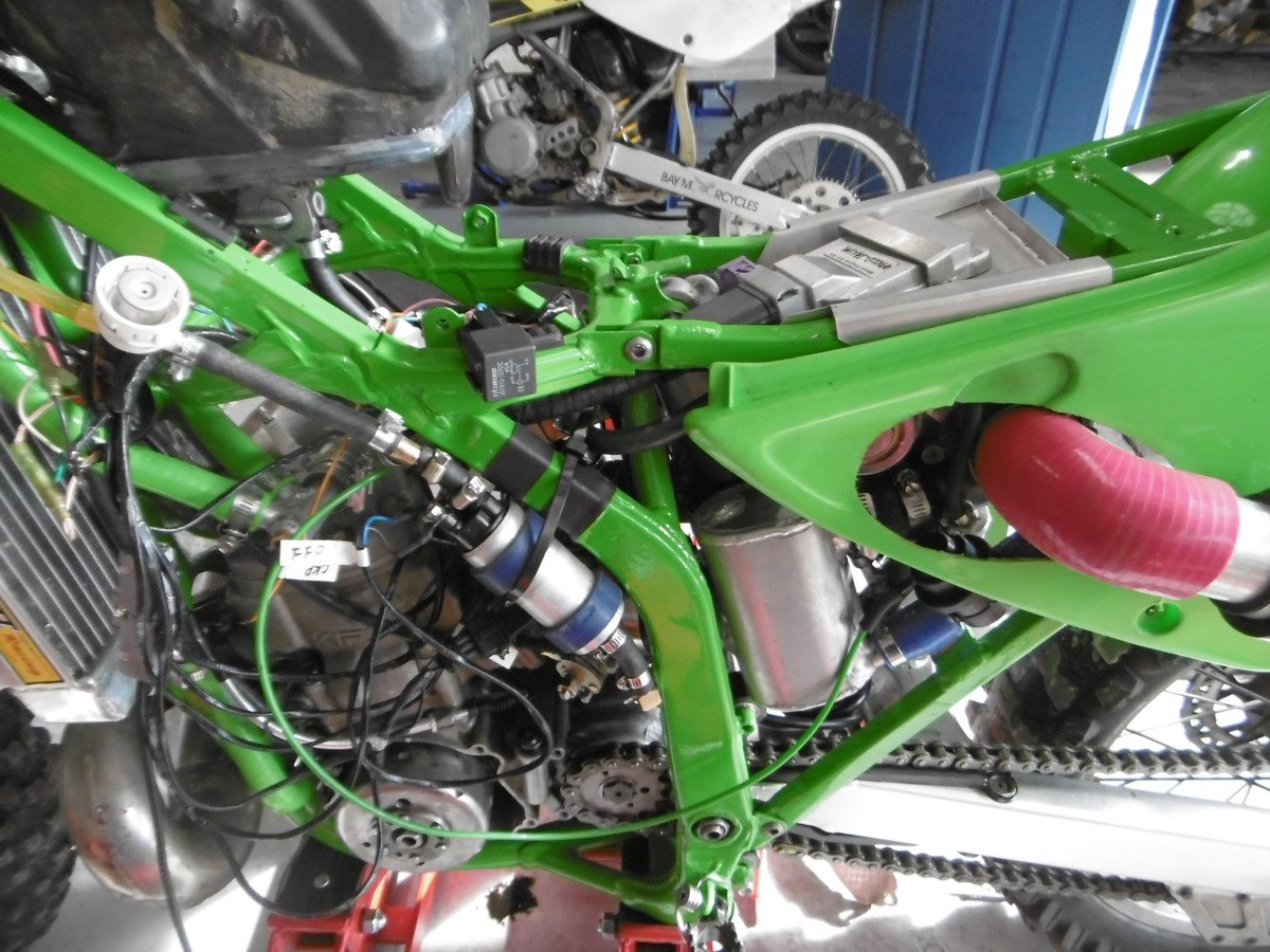 Ecotrons Turbo Two Stroke - Motorcycle Jetting & Fuel