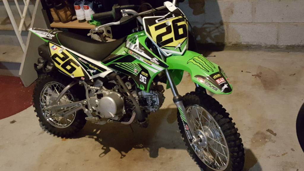Who has the best looking klx/drz 110 on thumpertalk - Page 5