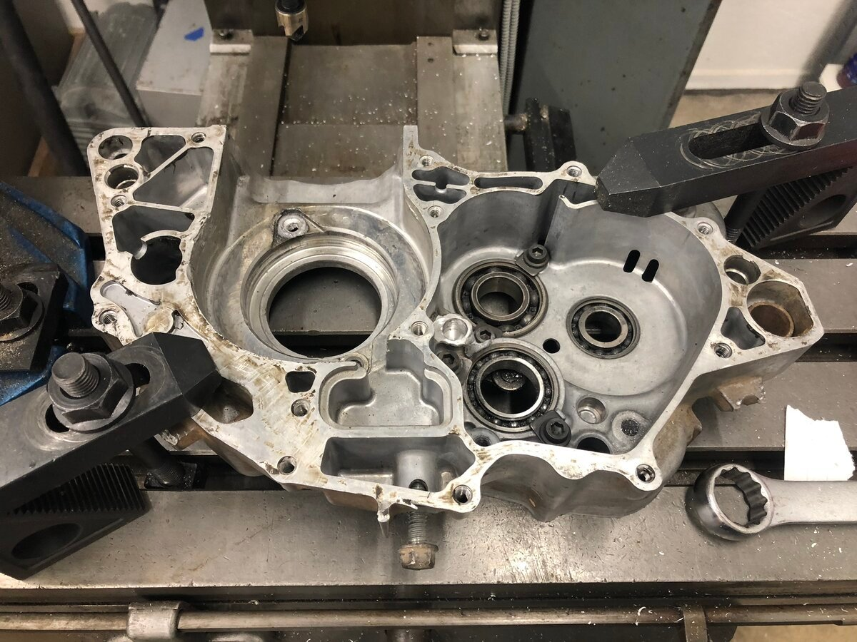 machined bores